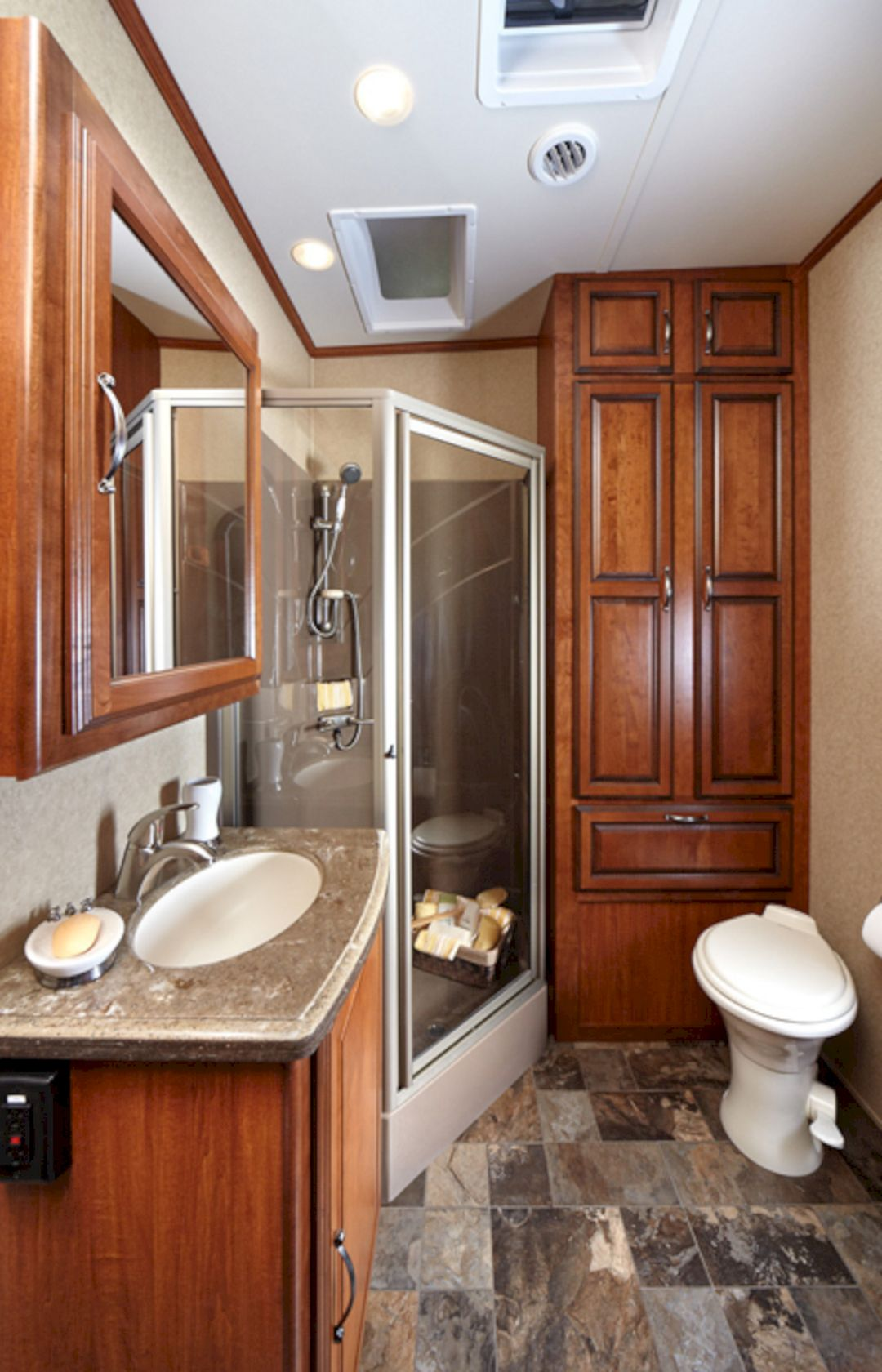 Why Does my RV toilet smell When I flush?